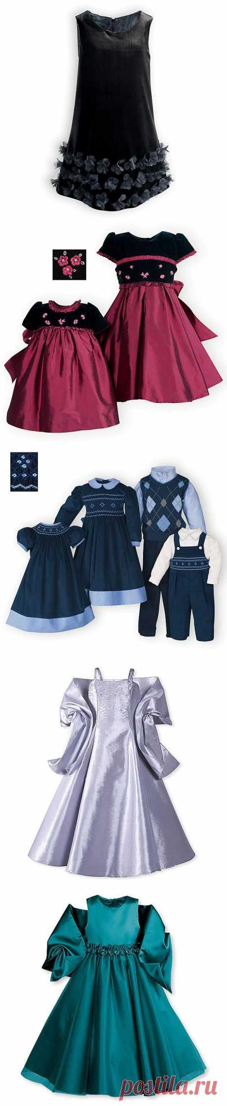 Нарядные платья для девочек. .