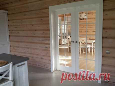 El estilo escandinavo en la casa de madera