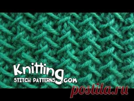 Herringbone stitch | Step-by-step Tutorial