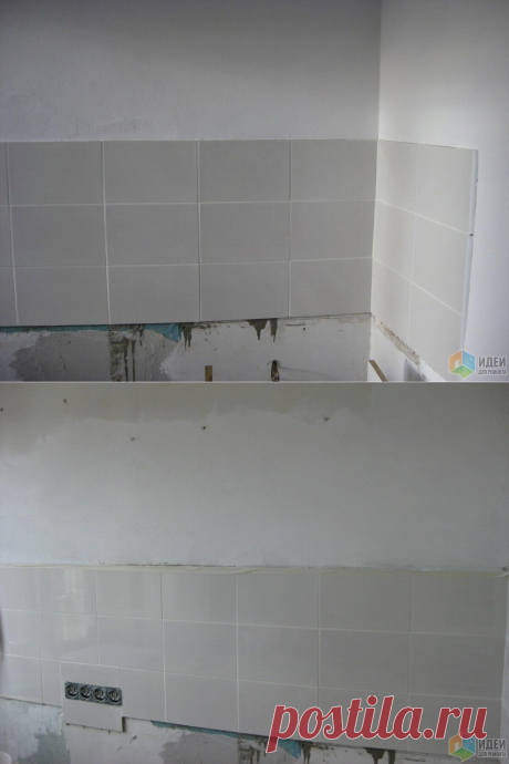 Однушка хрущевка в белом - кухня 5 кв. метров