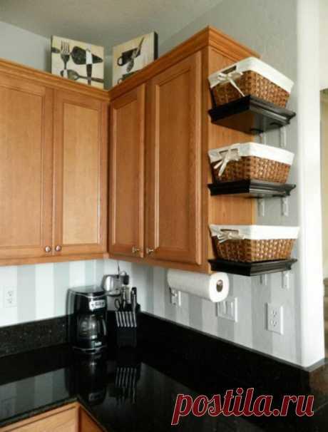 15 практичных идей для кухни, которые помогут разложить все вещицы по полочкам