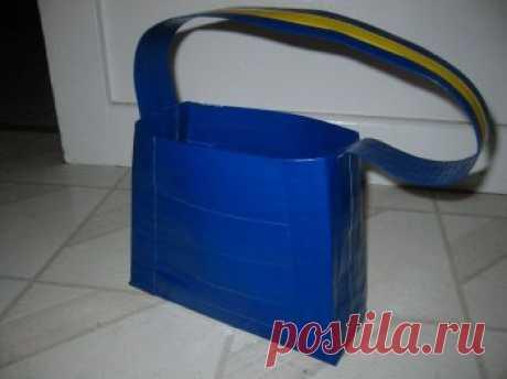 Самодельная сумочка из скотча — Своими руками