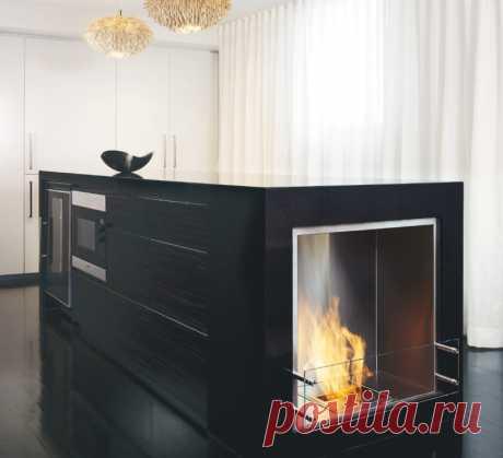 Современные приборы отопления в доме: камин и печь