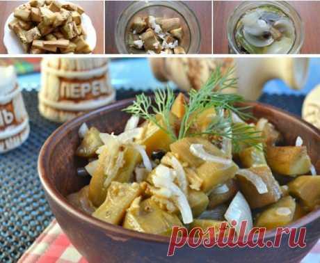 Баклажаны со вкусом грибов ⋆ Кулинарная страничка