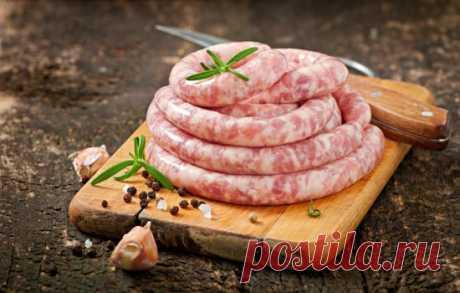 Рецепты домашней колбасы из свинины и говядины: секреты выбора