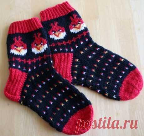 Отличная идея для детских носочков!