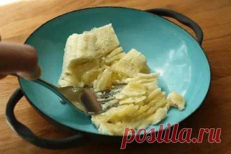 Натуральное средство от кашля на основе банана — Чудо поваренок