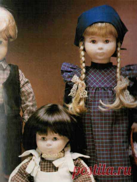 Про текстильных кукол Glorex / Текстильные куклы / Бэйбики. Куклы фото. Одежда для кукол