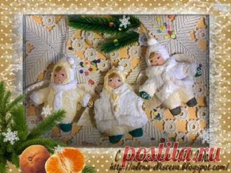 Ангелы к Рождеству МК