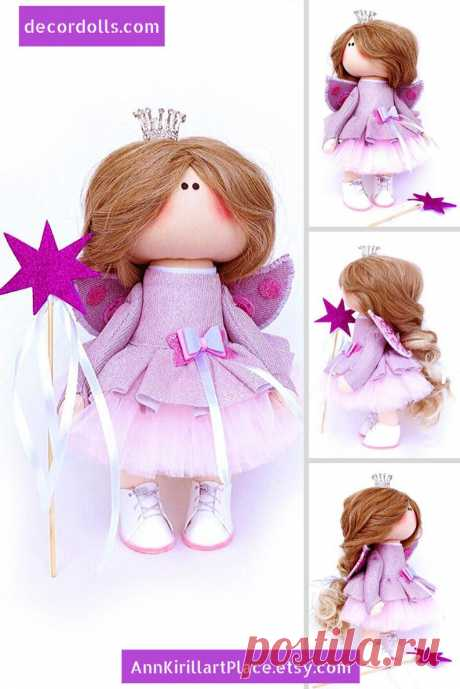 Little Princess Doll Handmade Angel Custom Doll Queen Art | Etsy