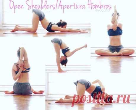 Комплекс йоги на раскрытие плечевого пояса