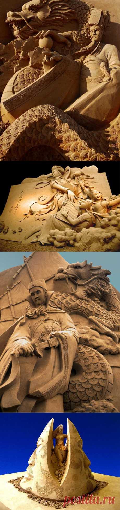 » Песчаная скульптура от Joo Heng Tan Это интересно!