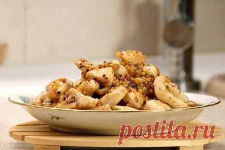 Мясо (курица, сосиски) в меду, быстрый рецепт   Вкусные кулинарные рецепты