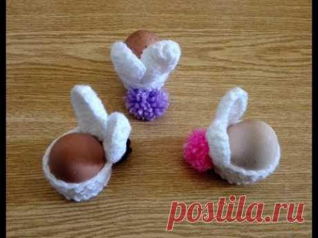 Crochet Easter Egg Cozy Part 1\/2  سبت   ٢ \/ ١