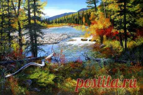 Великолепные пейзажи канадского художника Эндрю Кисса