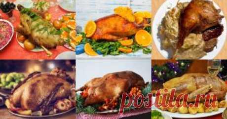 Гусь на Новый год - 19 рецептов приготовления пошагово - 1000.menu Гусь на Новый год - быстрые и простые рецепты для дома на любой вкус: отзывы, время готовки, калории, супер-поиск, личная КК