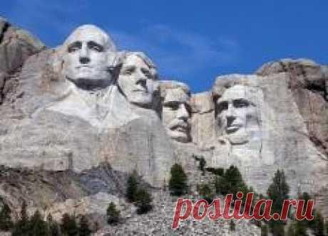 Сегодня 31 октября в 1941 году Завершено сооружение национального мемориала США на горе Рашмор