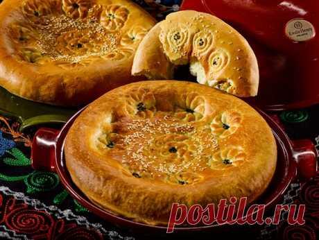 Узбекская лепешка в духовке от Сталика Ханкишиева | Четыре вкуса
