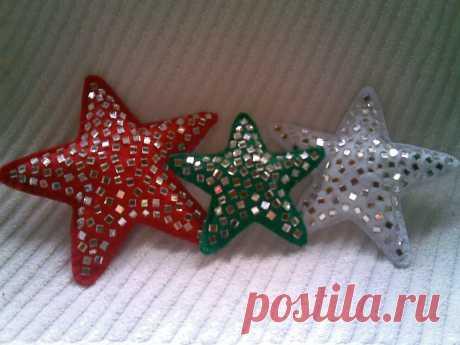 Estrelas de Espelho - Feltro | Flickr - Photo Sharing!