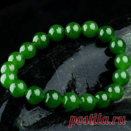 Spinach Green Jasper 8mm bracelet-Women's Bracelet-Beaded | Etsy