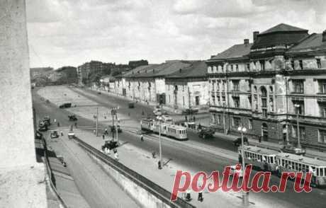 Зубовский бульвар, 1947 год.