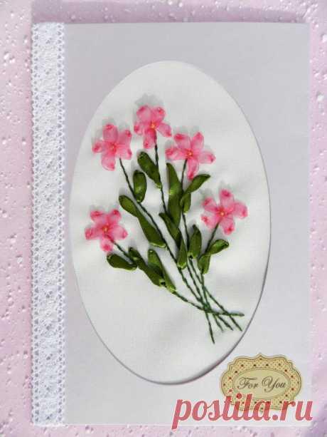 Greeting Card Pink tenderness от YakovlevaLena на Etsy