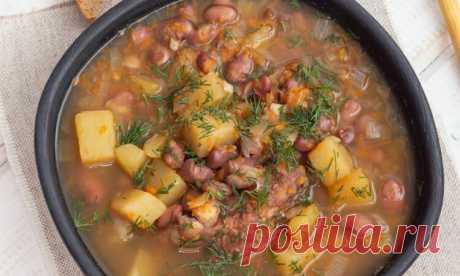Очень аппетитный суп из красной фасоли с мясом Представляем вашему вниманию рецепт очень аппетитного супчика, который понравится абсолютно всем. Поверьте, ваши домочадцы будут просить добавки. Супчик сытный, полезный и мега вкусный. Таким отменным блюдом вы с...