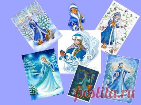 """¡RZ \""""Es dibujado un Nuevo año!\"""" - la hija de las nieves... ¡El personaje mágico del Nuevo año - la hija de las nieves! ¿La tarea hoy difícil, por eso nos será necesaria la ayuda de la mamá)) la Mamá, sois preparados?! ¡Sin usted no vencer de ningún modo! A nosotros... Aquí este. Hacemos la huella ladoshki. Y luego acab de dibujar los elementos necesarios por el dedito, el bastoncillo. Las mirillas y dibujamos las pestañas por el hilito. Aquí las variantes de los dibujos, que se puede tomar por la base. Prueben hacer el cuadro. Dibujen la nieve, el abeto..."""