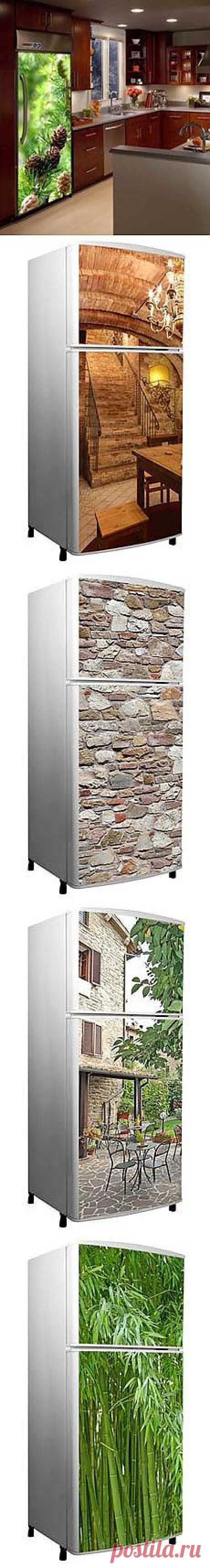Наклейки на холодильник: необычный дизайн вашего холодильника