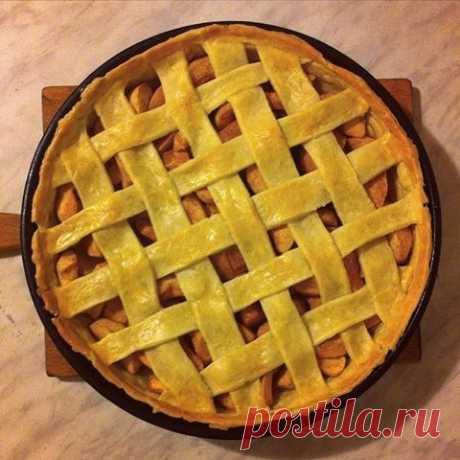 Яблочный пирог рецепт – русская кухня: выпечка и десерты. «Еда»