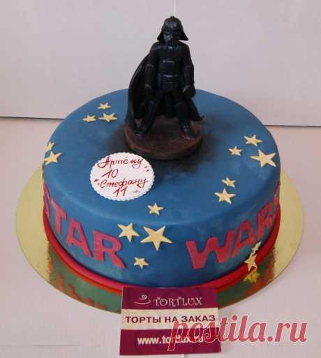 """Детский торт""""Звездные войны"""".Вес 4 кг."""