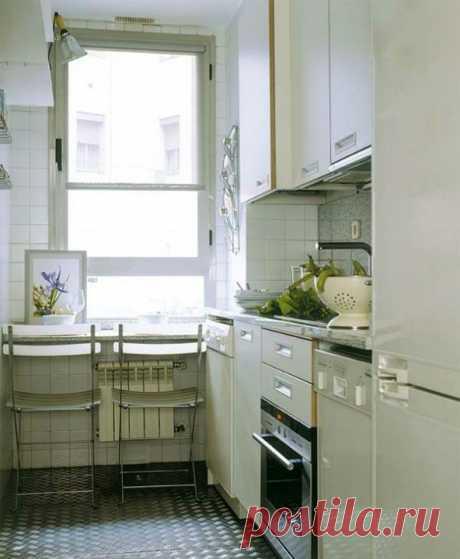 Дизайн кухни в хрущевке — фото