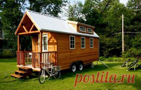 10 идеальных дачных домиков площадью меньше 40 кв. метров