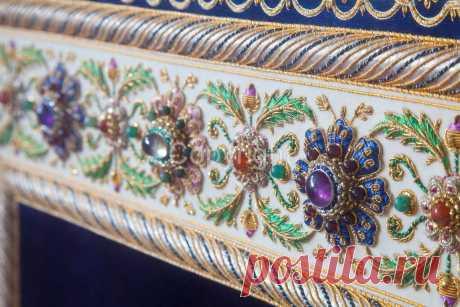 Зардози - персидская вышивка: волшебство мужскими руками | Мои непослушные крестики | Яндекс Дзен