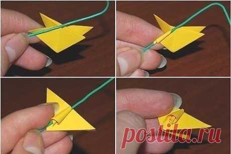 Потворим? Кусудама - бумажная модель, которая формируется сшиванием (или склеиванием) вместе концов множества одинаковых пирамидальных модулей , так что получается тело шарообразной объемной формы.