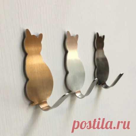 Держатель для ключей в виде кошки  https://s.click.aliexpress.com/e/F3ATRW3Q?product_id=..