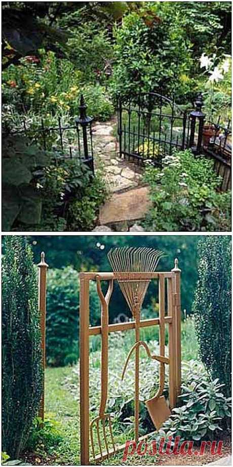 Ideas of design for giving: beautiful garden gates - we Learn to Do All to Sami