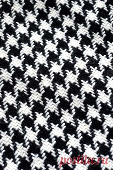 crochet two color houndstooth - Google Search