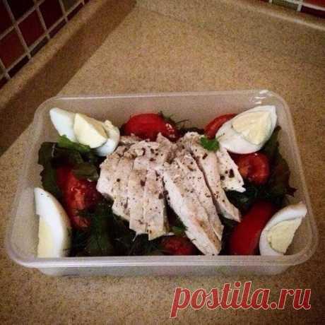 Идеи диетических овощных салатов на ужин