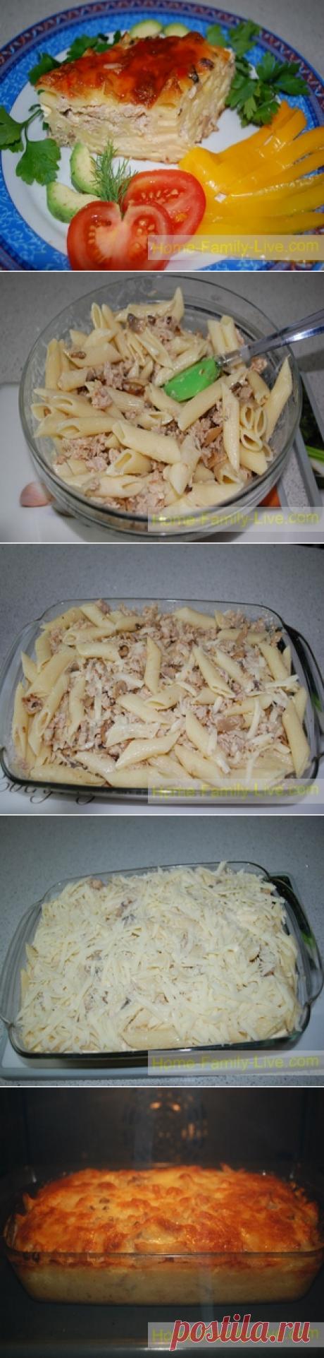 Запеканка из макарон с фаршем/Сайт с пошаговыми рецептами с фото для тех кто любит готовить
