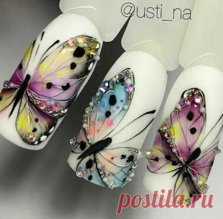 """World Of NailArt 💅🏻💞 on Instagram: """"#repost @usti_na  #nail #nails #nailart #nailtech #nailswag #naildesigns #nailstagram #nailsofinstagram #naildesign #nailaddict #nailsdone…"""" 49 Likes, 1 Comments - World Of NailArt 💅🏻💞 (@onlybestnailart) on Instagram: """"#repost @usti_na  #nail #nails #nailart #nailtech #nailswag #naildesigns #nailstagram…"""""""