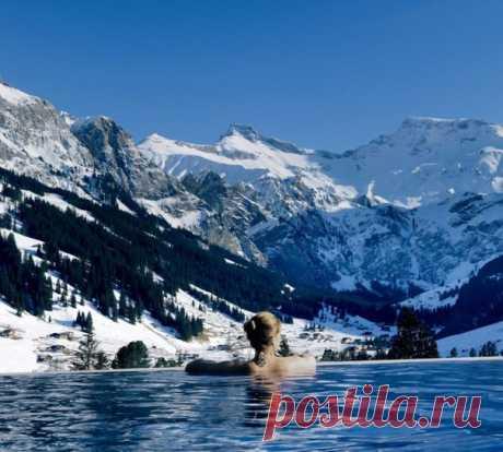 Швейцарские Альпы, Кембрийский пейзаж