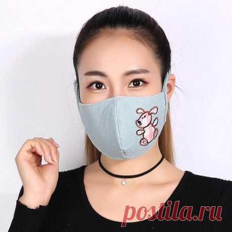 Выкройка комфортной маски, в которой удобно