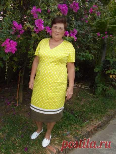 Платье жёлтое в горох / Patrolaj / 28.01.2020 / Фотофорум на BurdaStyle.ru