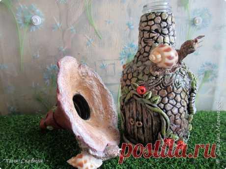И снова Домик-грибок с улитками. Дубль 2. | Страна Мастеров