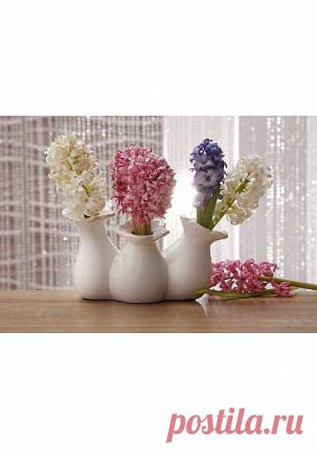 Тройная ваза - Предметы декора - Товары для дома и дачи - quelle.ru