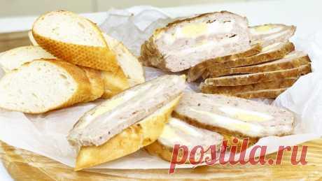 Если у вас есть фарш, приготовьте мясной хлеб - это заменит любую колбасу Мясной хлеб - вкусное блюдо из фарша, запеченное в духовке. Готовится просто и из простых, доступных продуктов. Таким мясом можно заменить полностью колбасу и сосиски из магазина.▶ Домашняя Колбаса рецепты Ингредиенты:  Мясо (любое) - 1 кг Лук - 1 шт. Соль, перец - по вкусу Чеснок - 3...