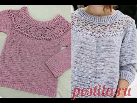 Blusão de crochê P,M,G