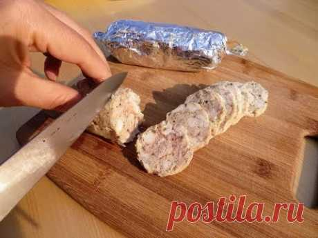 Домашняя колбаса - это просто! Больше не покупаю колбасу в магазине