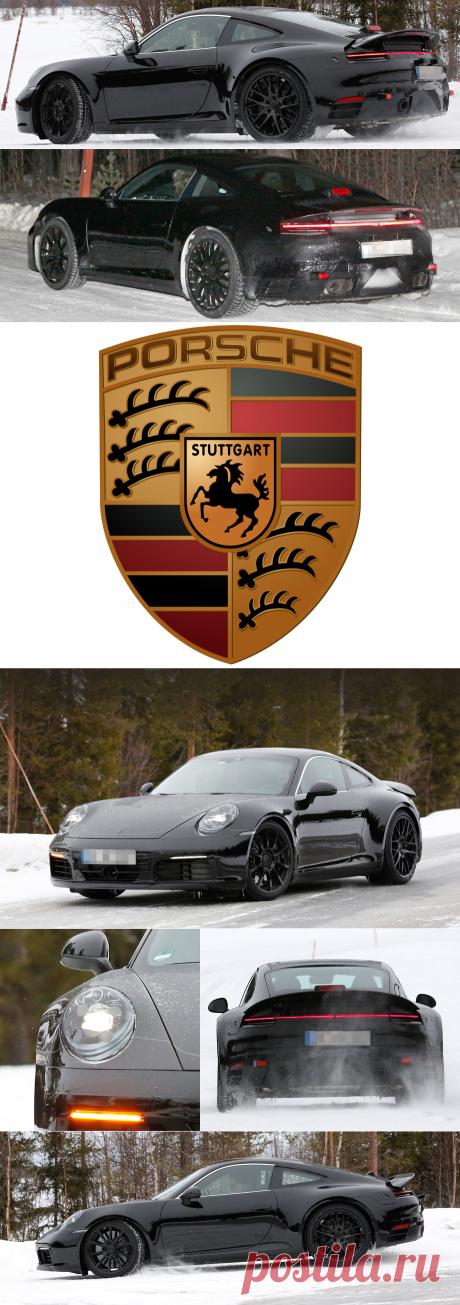Первое появление купе Porsche 911 нового поколения